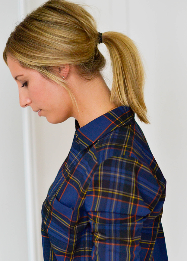 How To: The Messy Ponytail