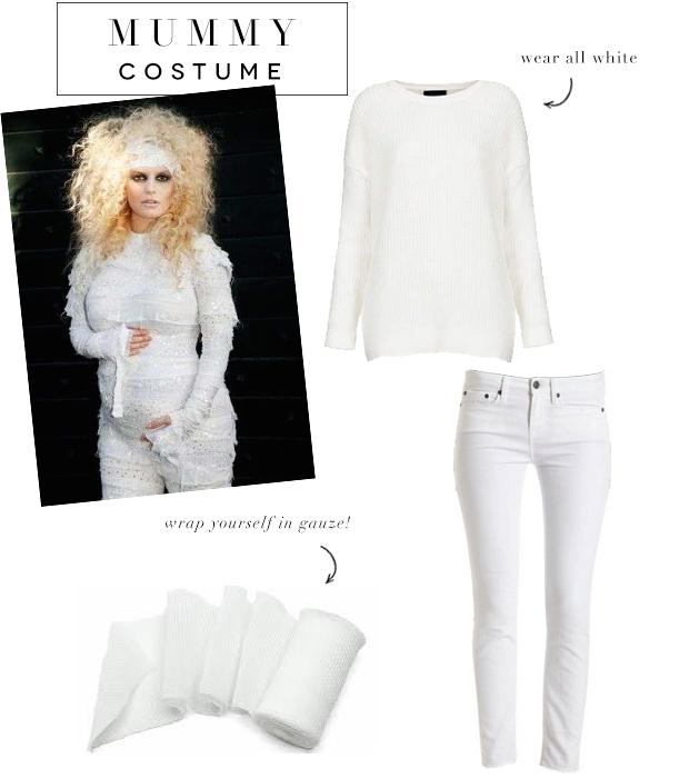 mummy costume halloween  sc 1 st  Advice from a Twenty Something & Super Easy Last Minute Halloween Costumes