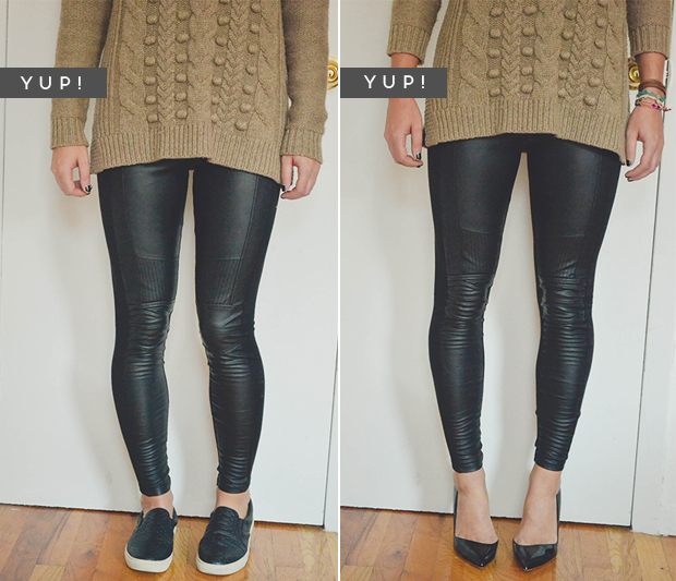 how to wear leggings3
