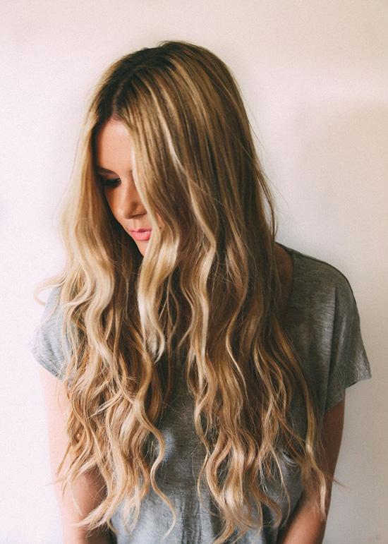 long wavy hair3
