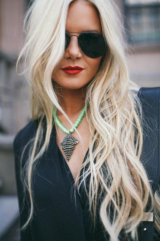long wavy hair5