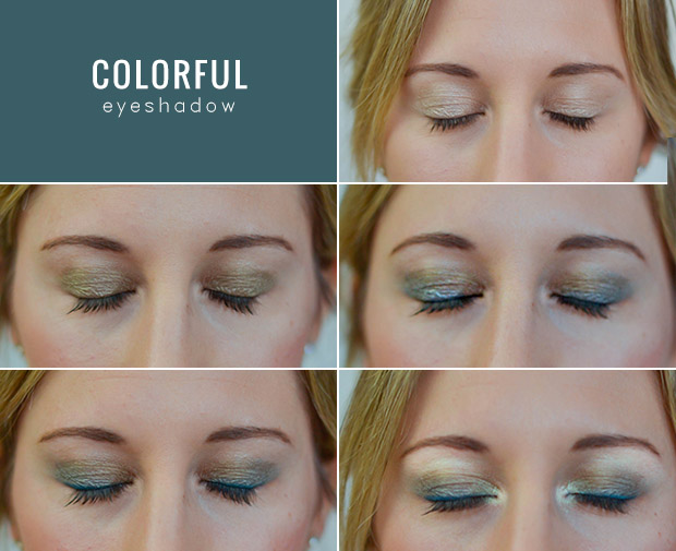 How to put on eye makeup for blue eyes