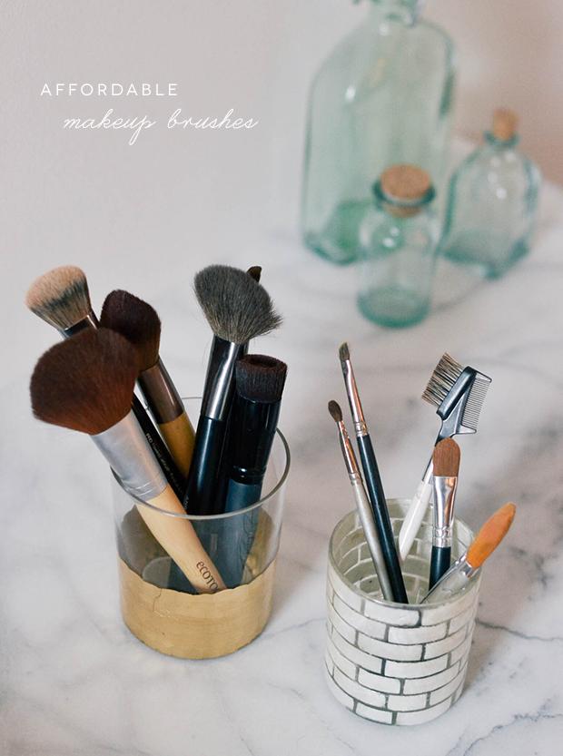 My Favorite Affordable Makeup Brushes