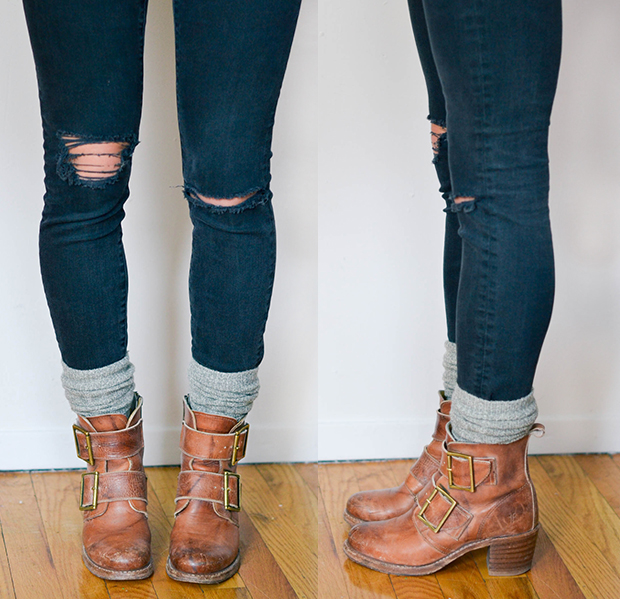 3 Ways to Wear Socks with Booties – Advice from a Twenty ...