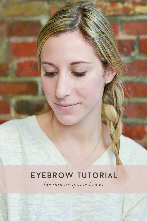 Eyebrow Tutorial: Eyebrow Tutorial For Thin Or Sparse Brows