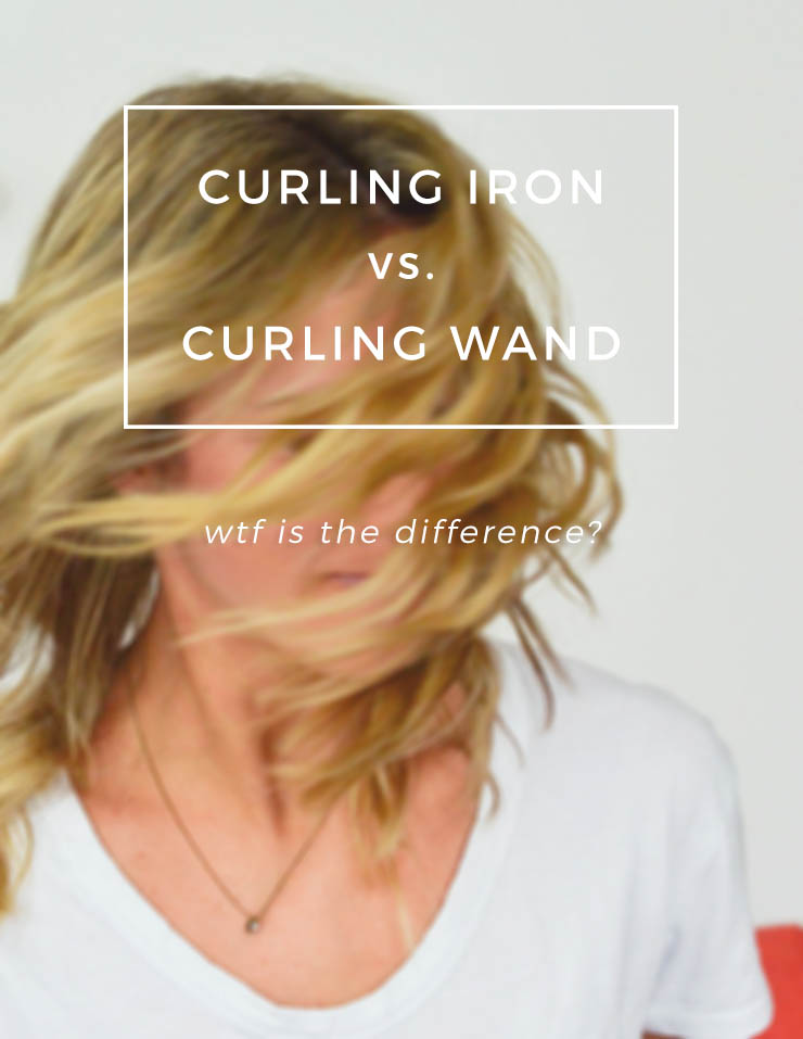 curling iron vs curling wand