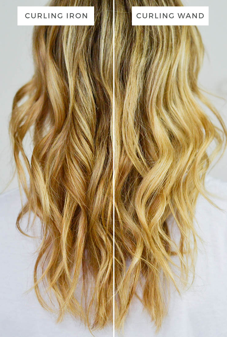 Curling Iron Vs Curling Wand Advice From A Twenty Something
