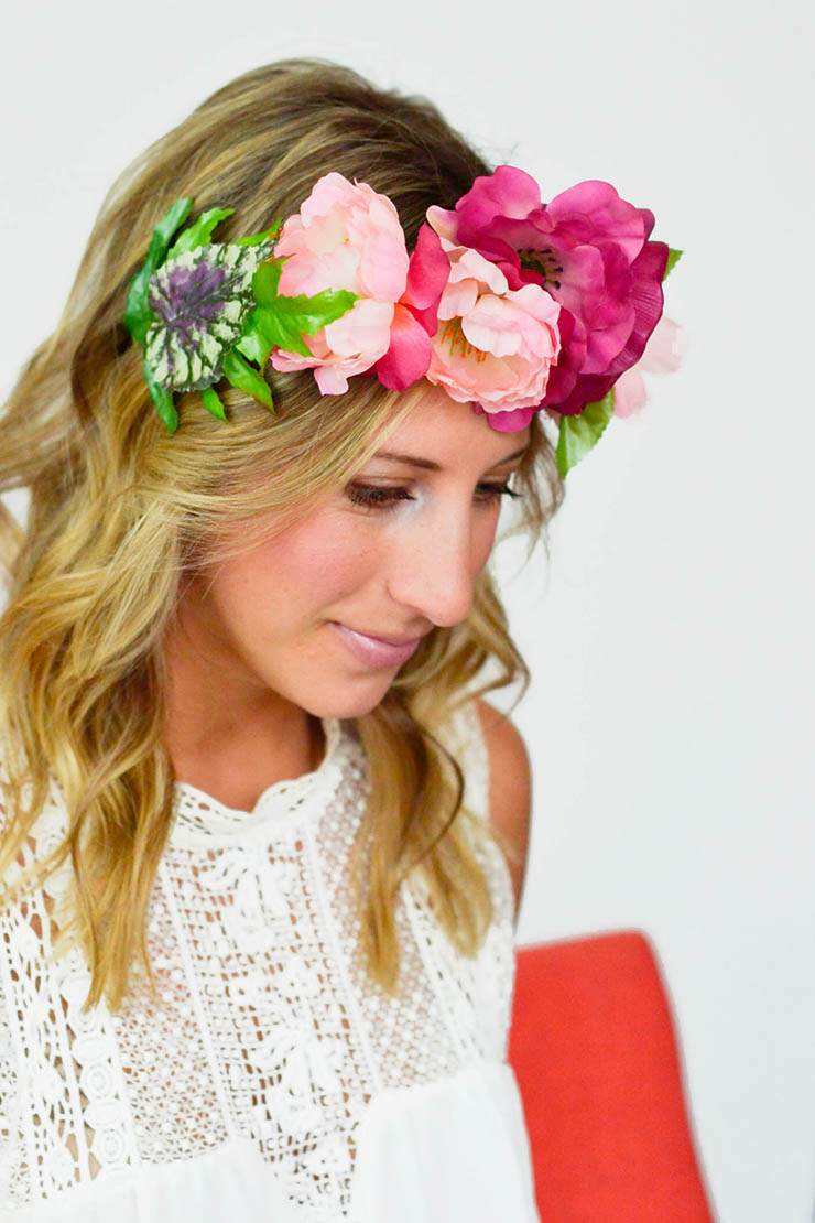 Diy flower crown diyflowercrown flowercrown izmirmasajfo