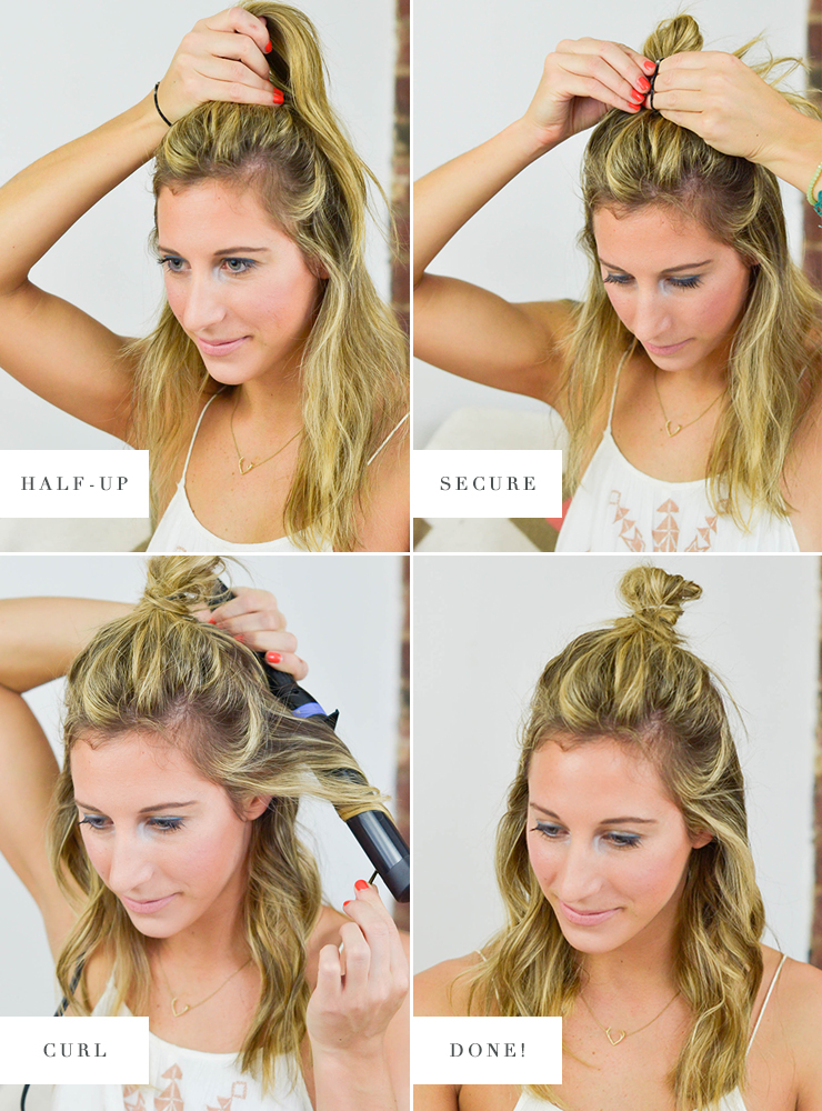 4 Super Easy Festival Hairstyles