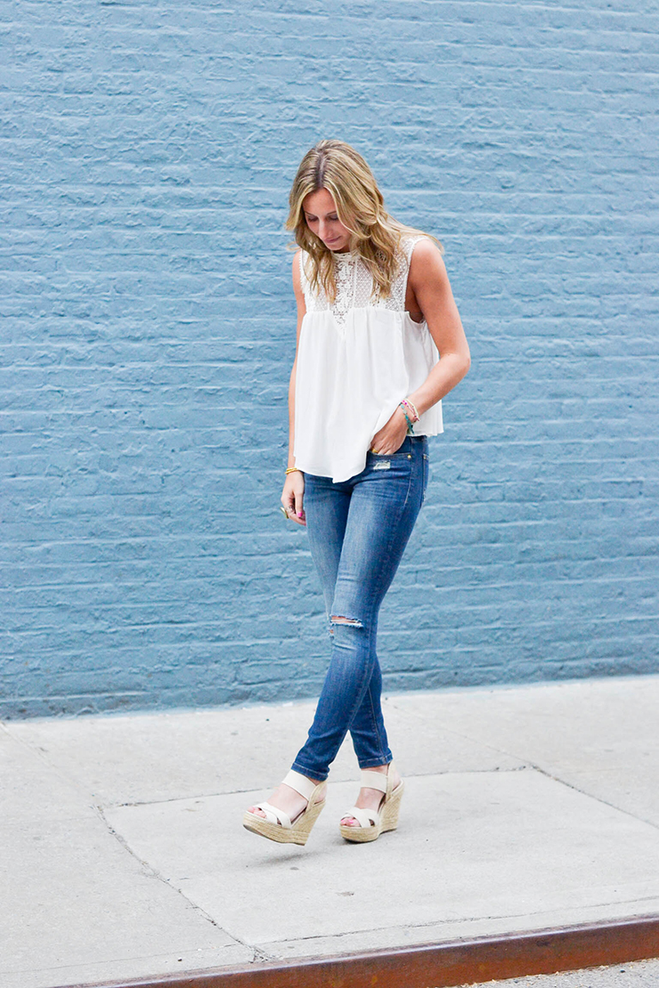 Denim 101: Distressed Denim