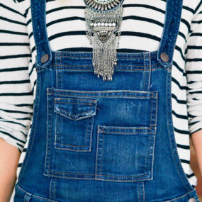 What Tops to Wear with Overalls