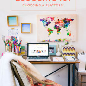 Blogging 101: Choosing a Platform