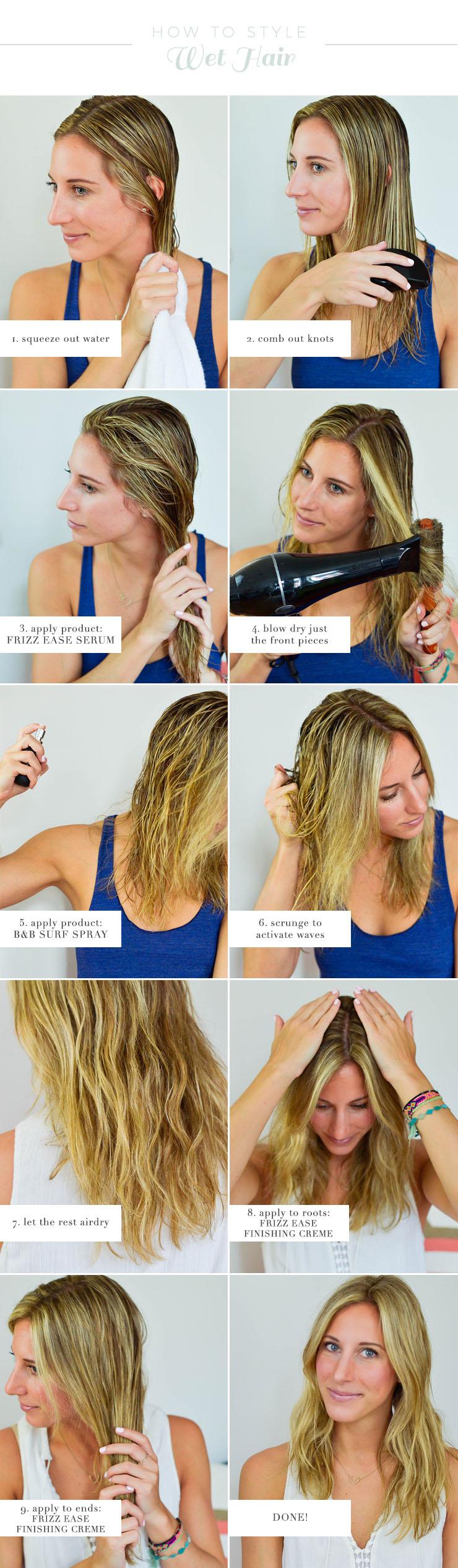 Amazing How To Style Wet Hair Short Hairstyles For Black Women Fulllsitofus