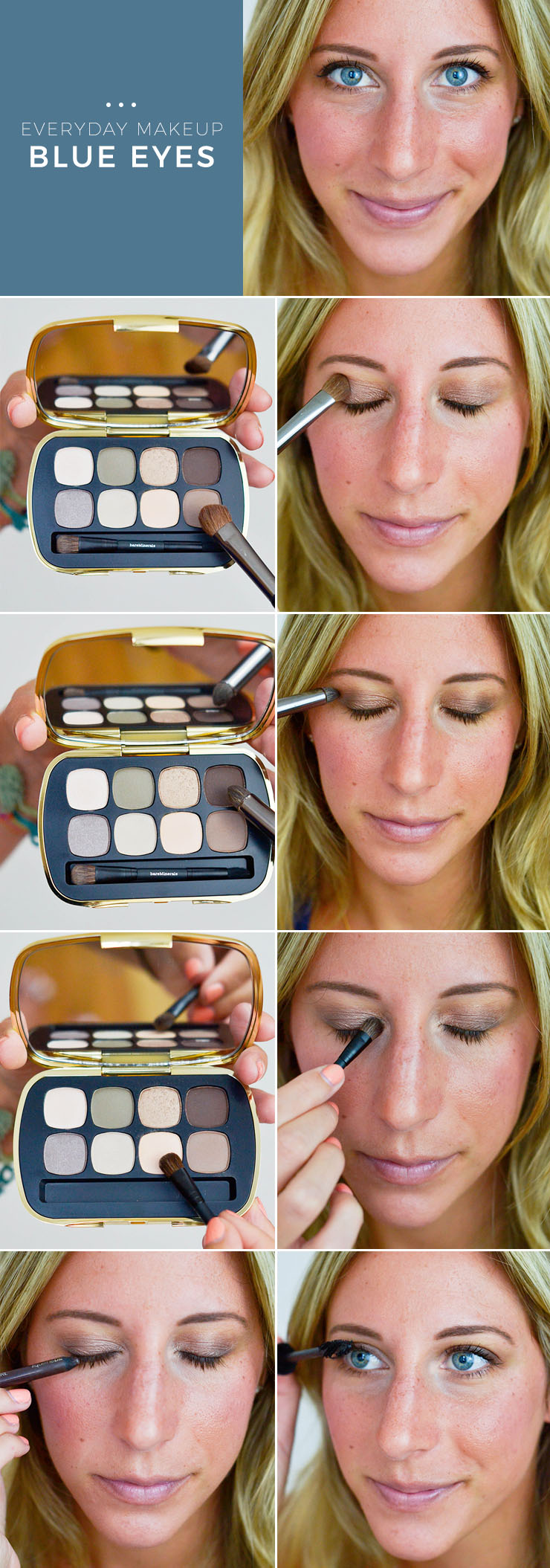 makeup for blue eyes