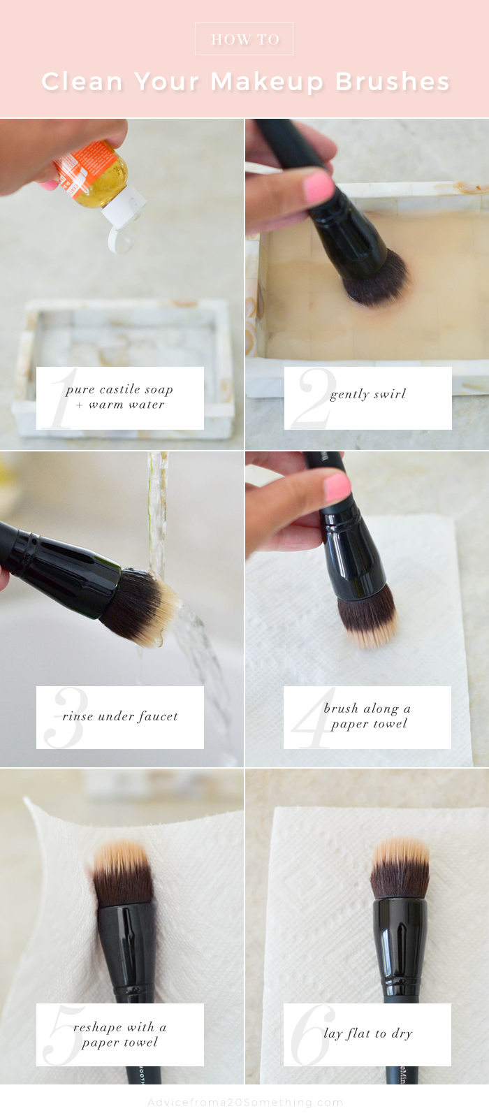 The Right Way To Clean Your MakeupBrushes The Right Way To Clean Your MakeupBrushes new photo