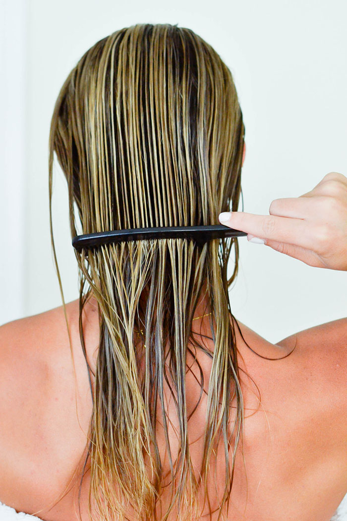 DIY Hair Mask for Dry, Damaged Hair