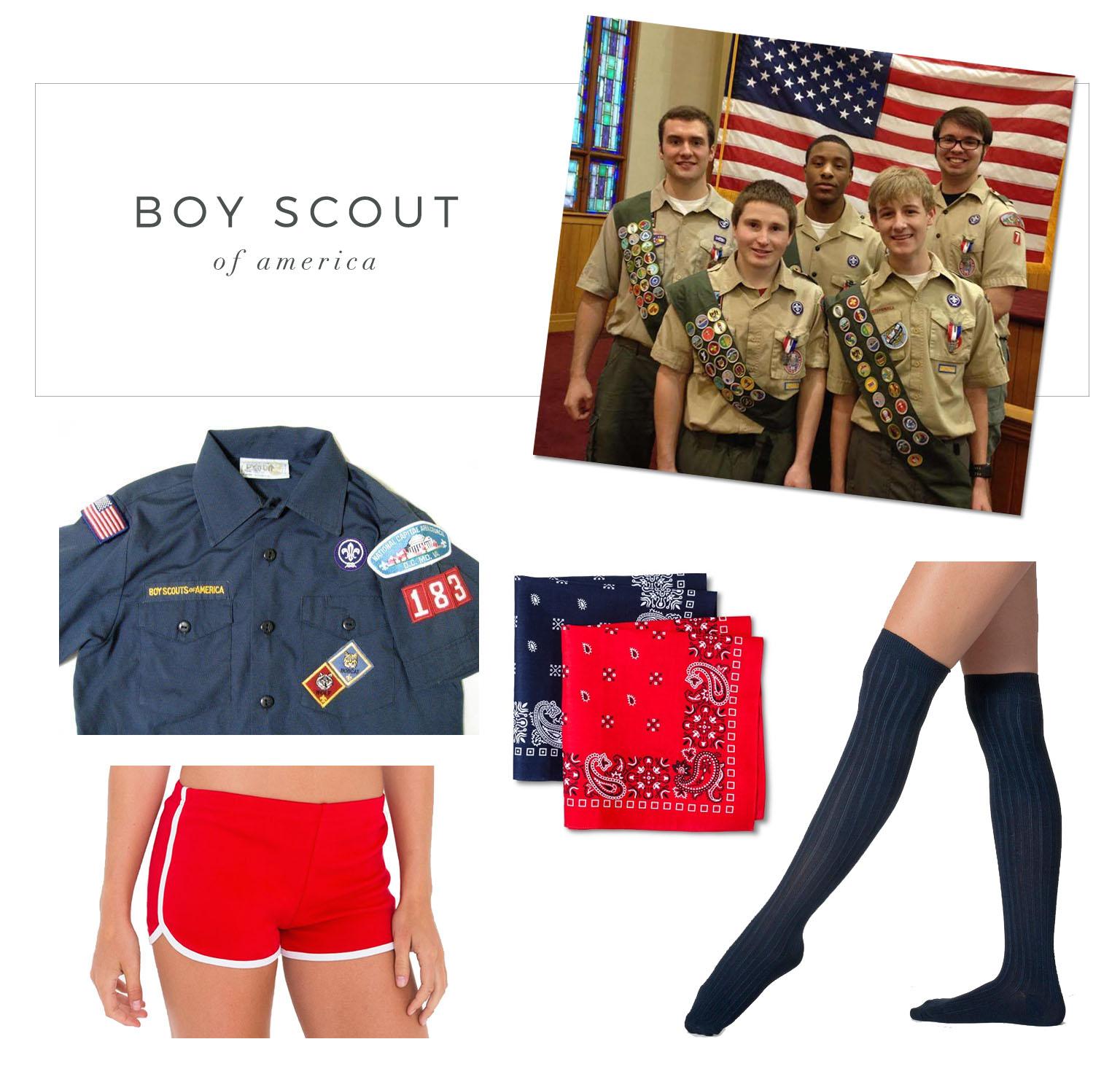 boy scout costume  sc 1 st  Advice from a Twenty Something & More Semi-DIY Halloween Costume Ideas!