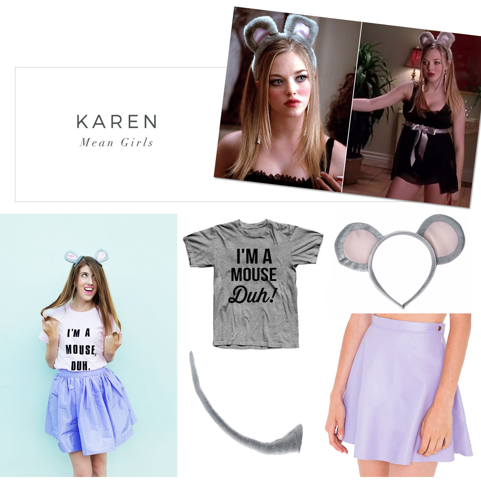 Karen mean girls halloween costume