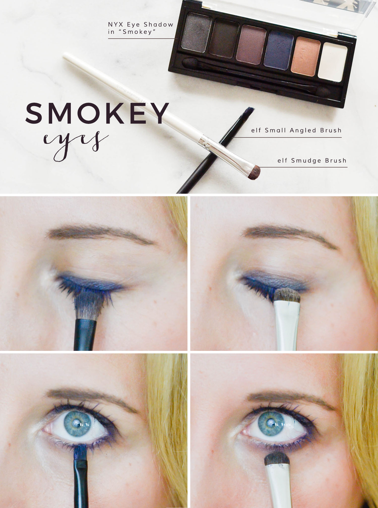 smokey eyes tutorial