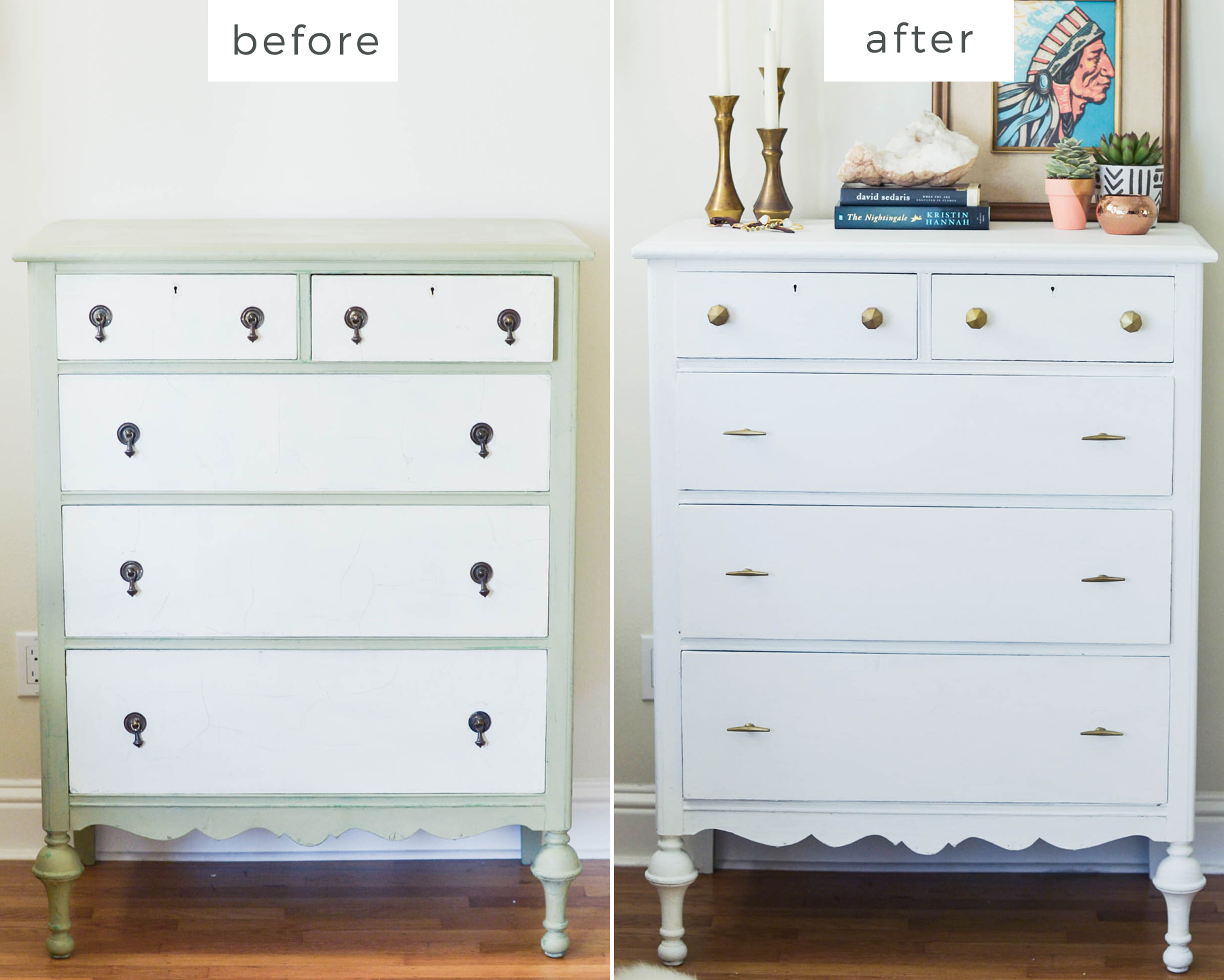 Diy Dresser Makeover Advice From A Twenty Something