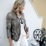 3 Ways to Wear White Jeans in Fall