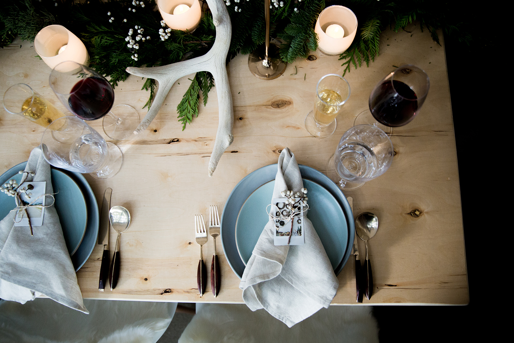 A Rustic & Festive Holiday Get Together