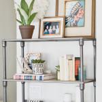 Apartment Refresh: Bookshelf Styling