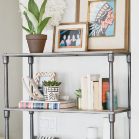 Apartment Refresh: Bookshelf Styling
