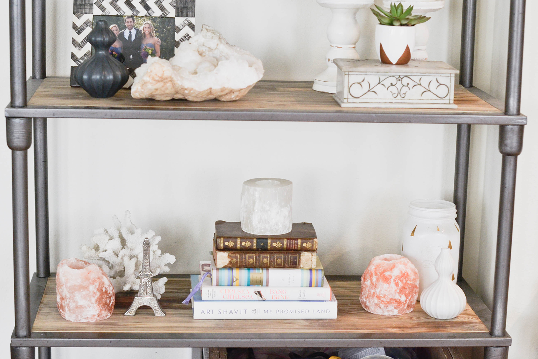 How To Style A Bookshelf Styling Decor