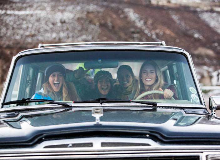 girls roadtrip, living life to the fullest