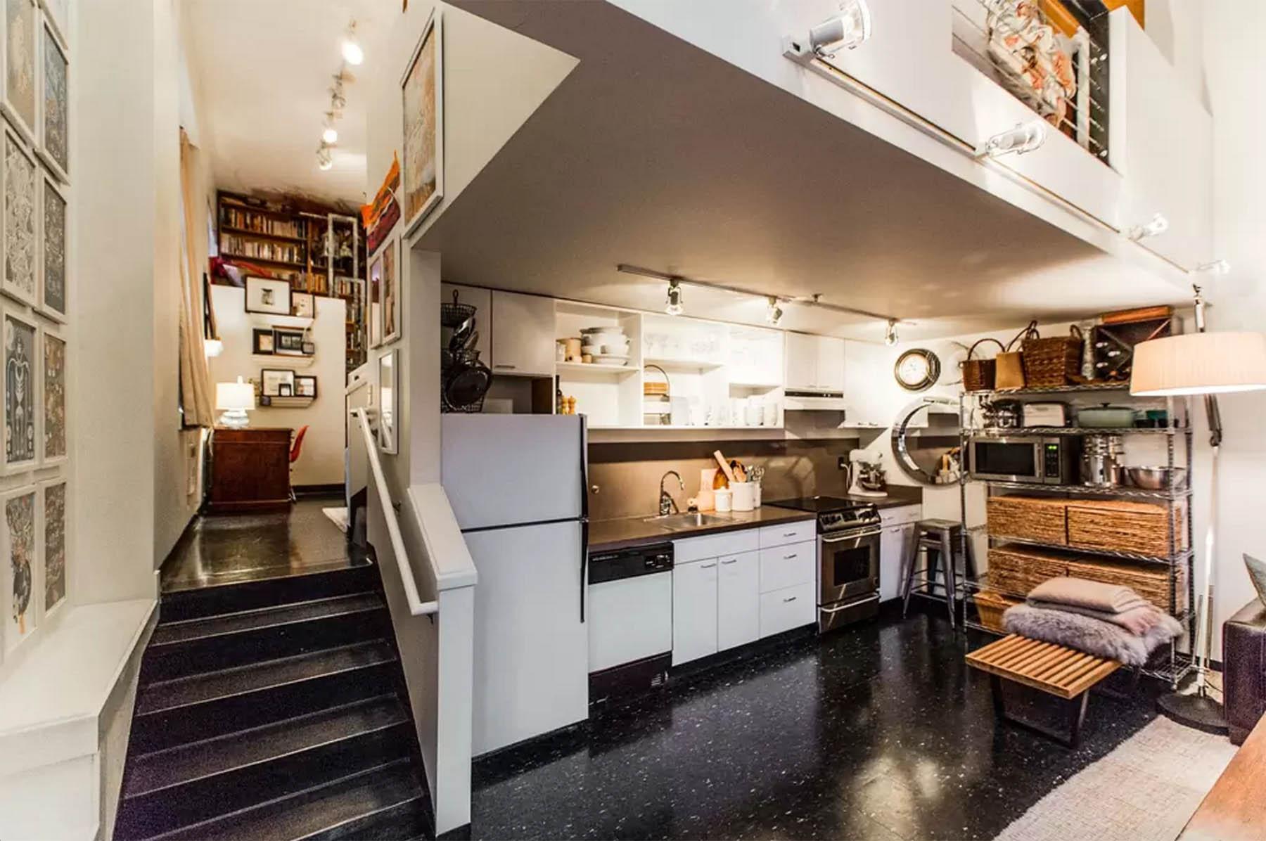seattle airbnb artist's loft