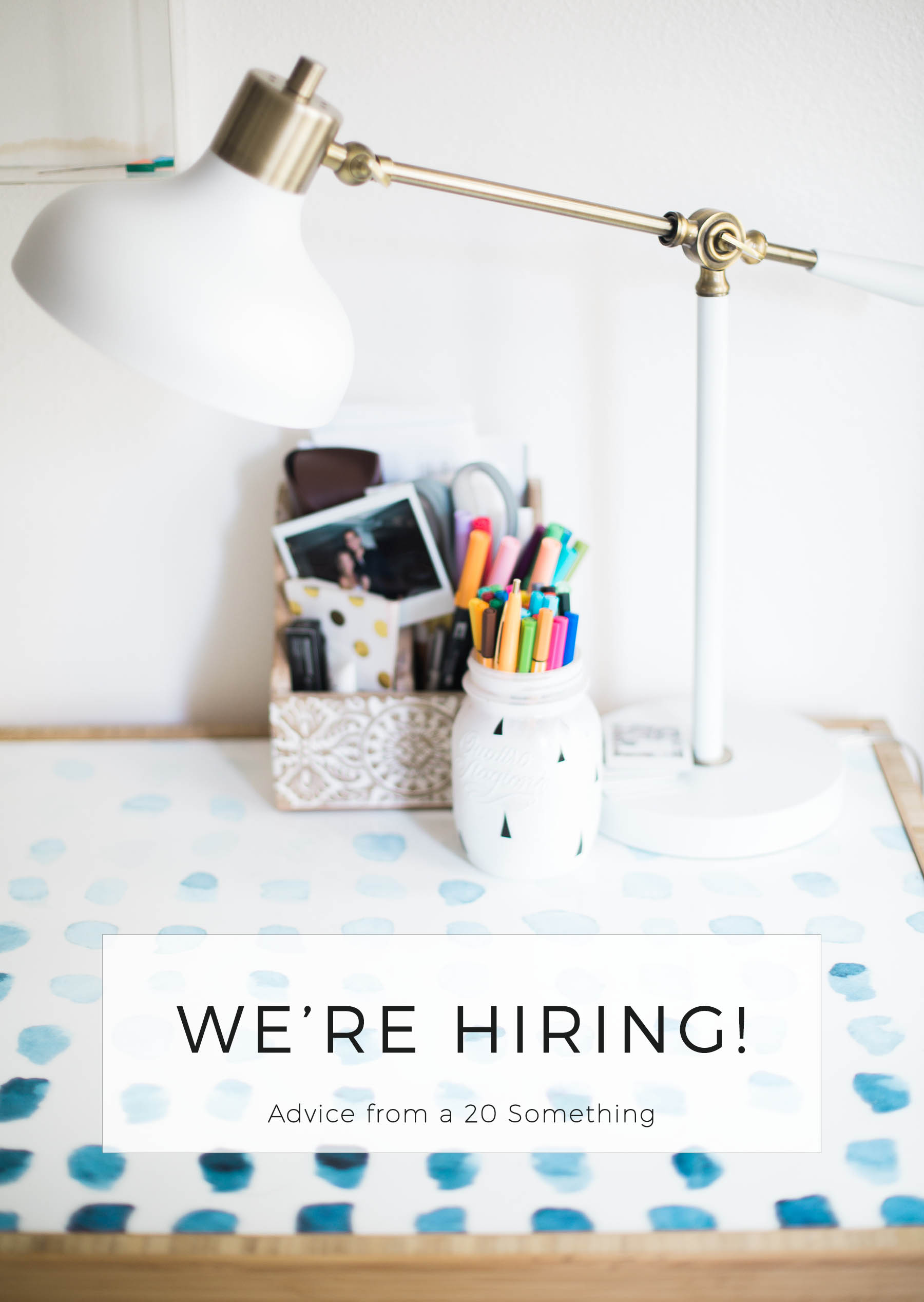 Amanda Holstein is hiring an intern for Advice from a 20 Something.