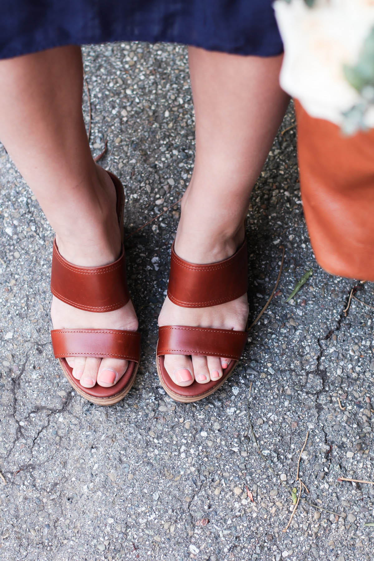 spring outfit leather sandals by Timberland from Zappos