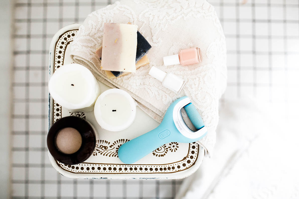 what you need for an at-home pedicure