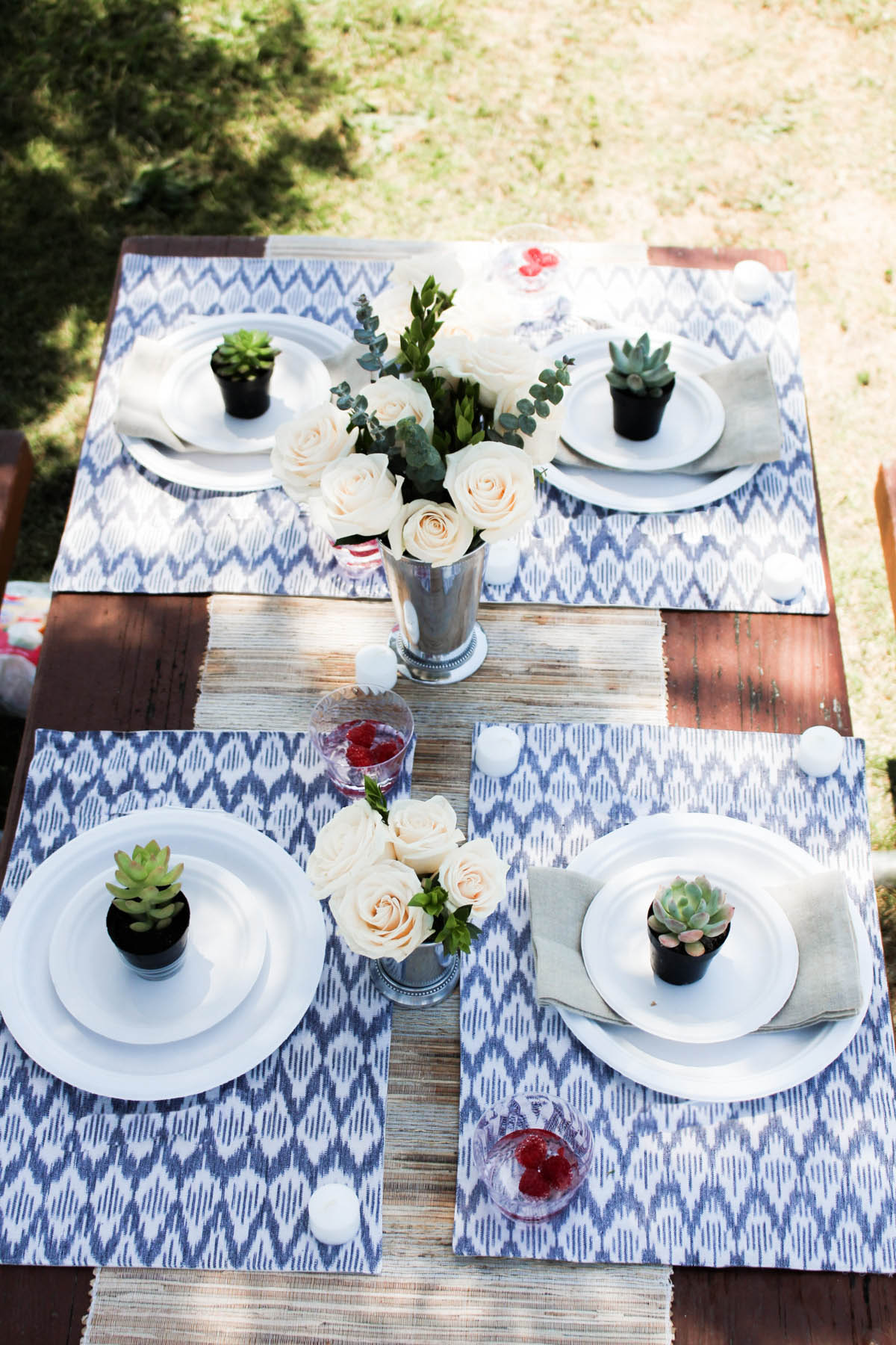 how to throw an outdoor dinner party without a backyard advice