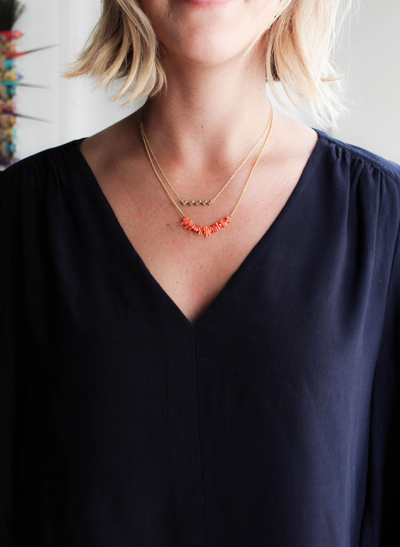 3 Ways to Layer Necklaces