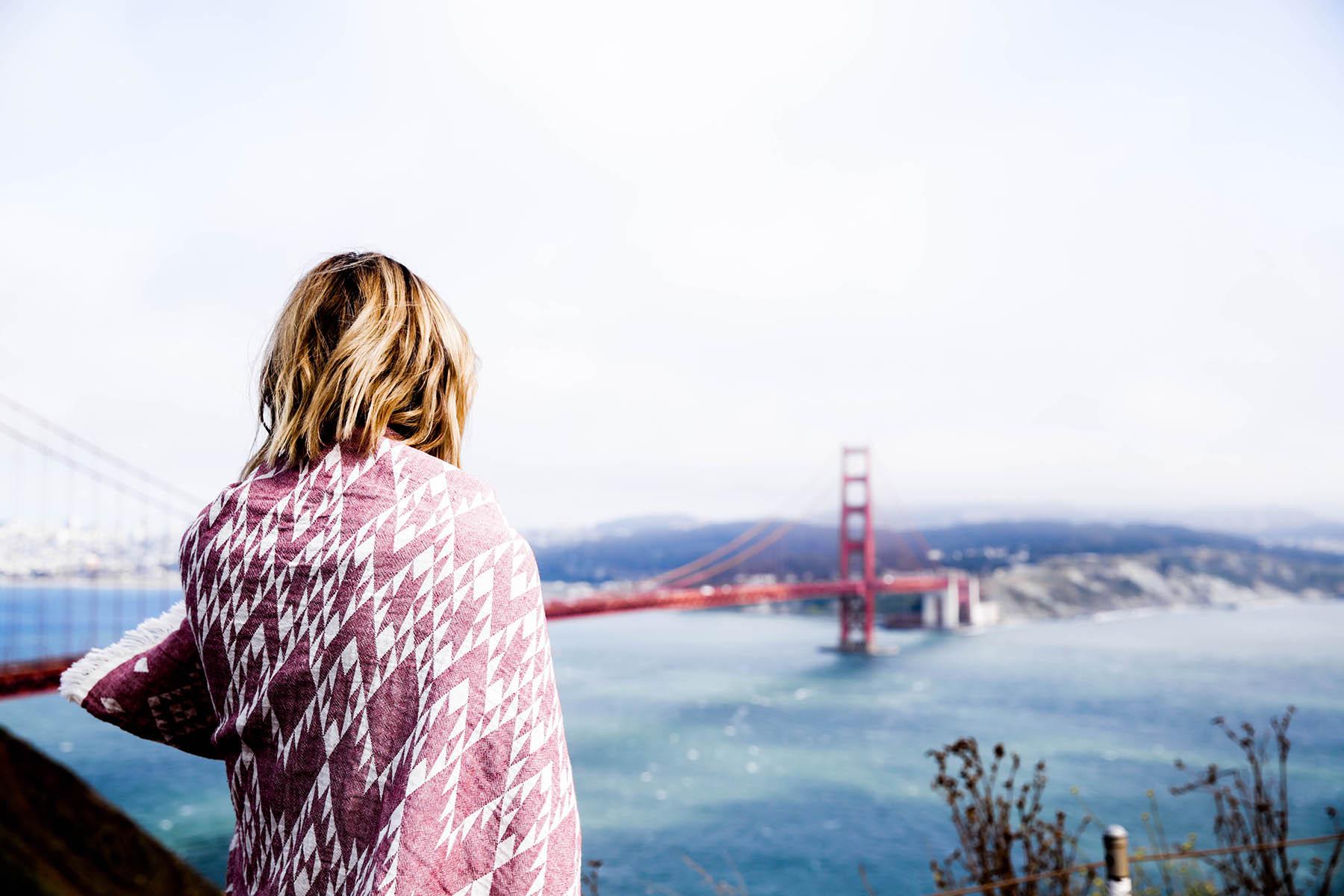 San Francisco Golden Gate Bridge, California roadtrip