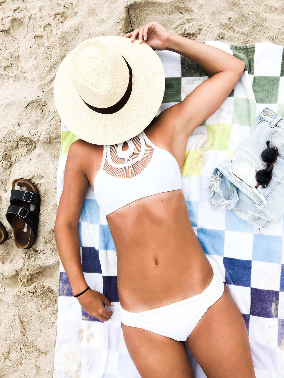 bettinis crochet halter bikini top for summer