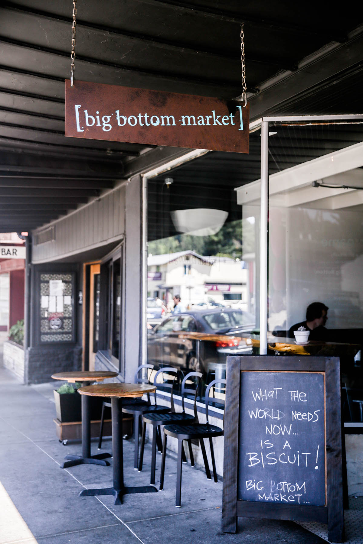 Bottom Market In Guerneville Sonoma County California