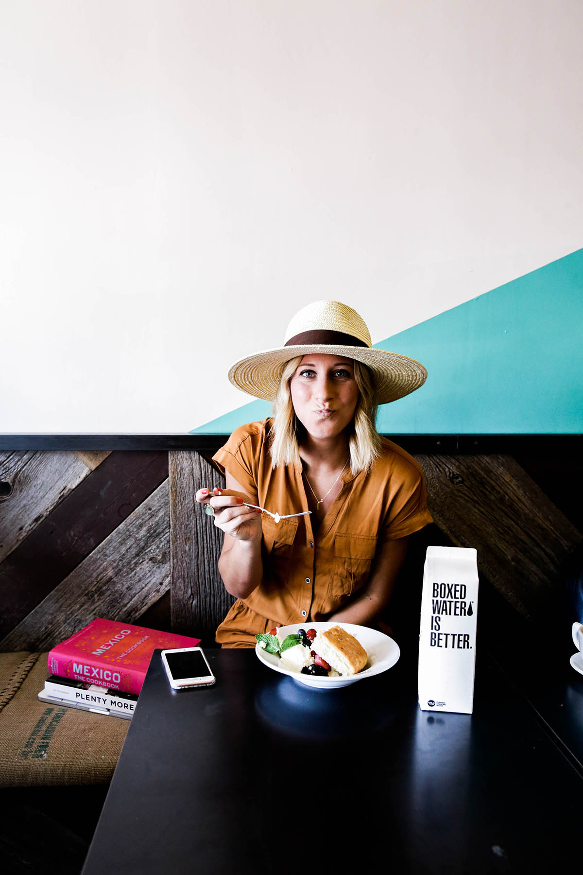 Amanda Holstein at big bottom market in Guerneville, Sonoma County, California