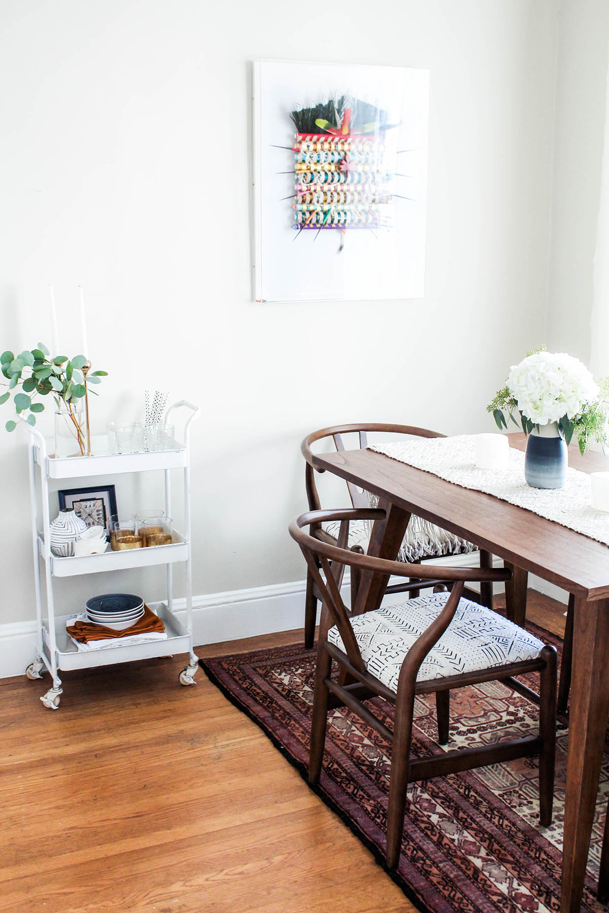 Bohemian Dining Room Reveal | Advice from a Twenty Something