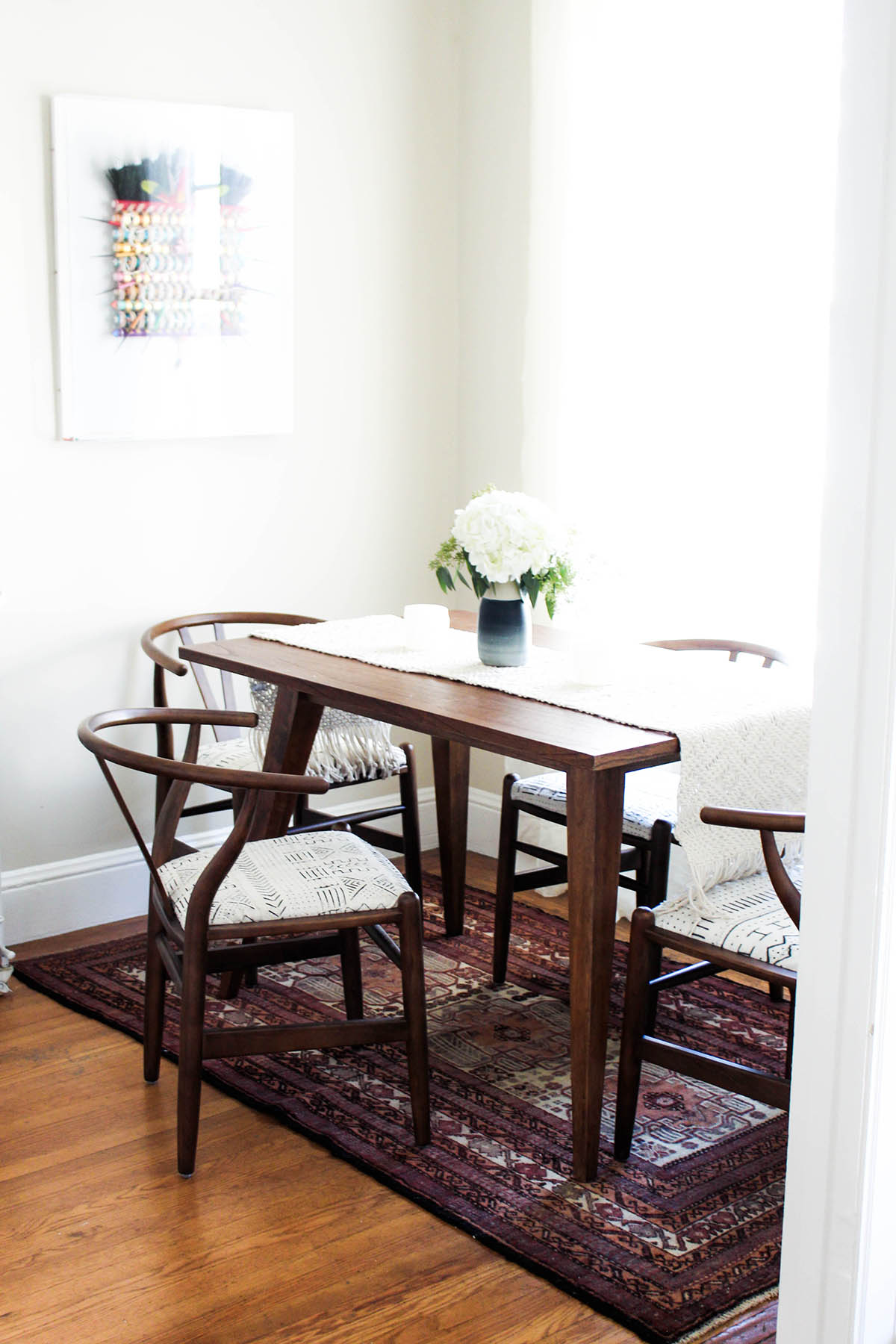 Bohemian Dining Room Reveal Advice From A Twenty Something