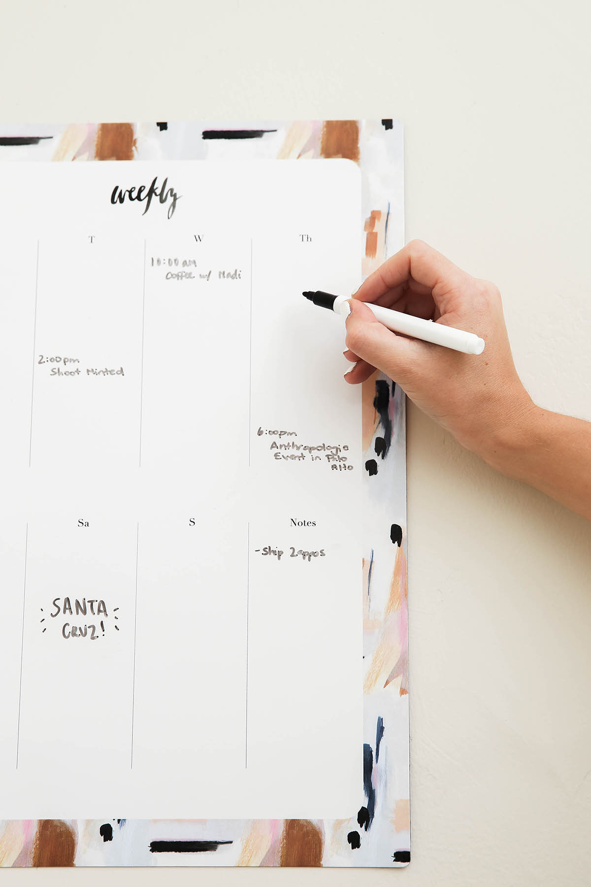 our heiday magnetic agenda calendar