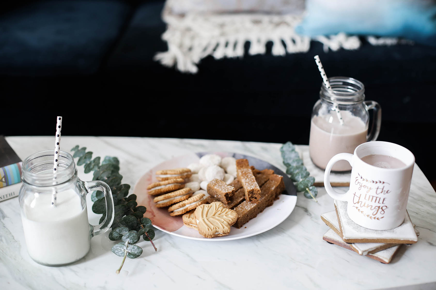 shutterfly holiday decor and holiday cookies