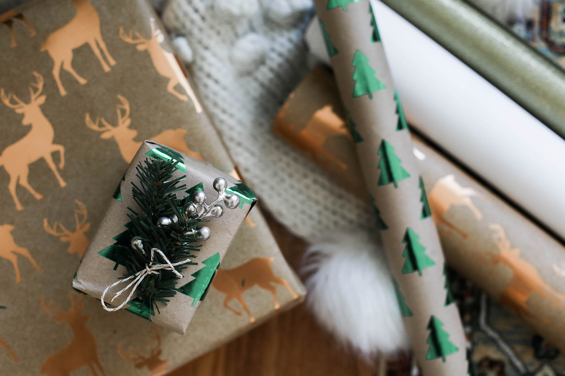 holiday wrapping paper ideas