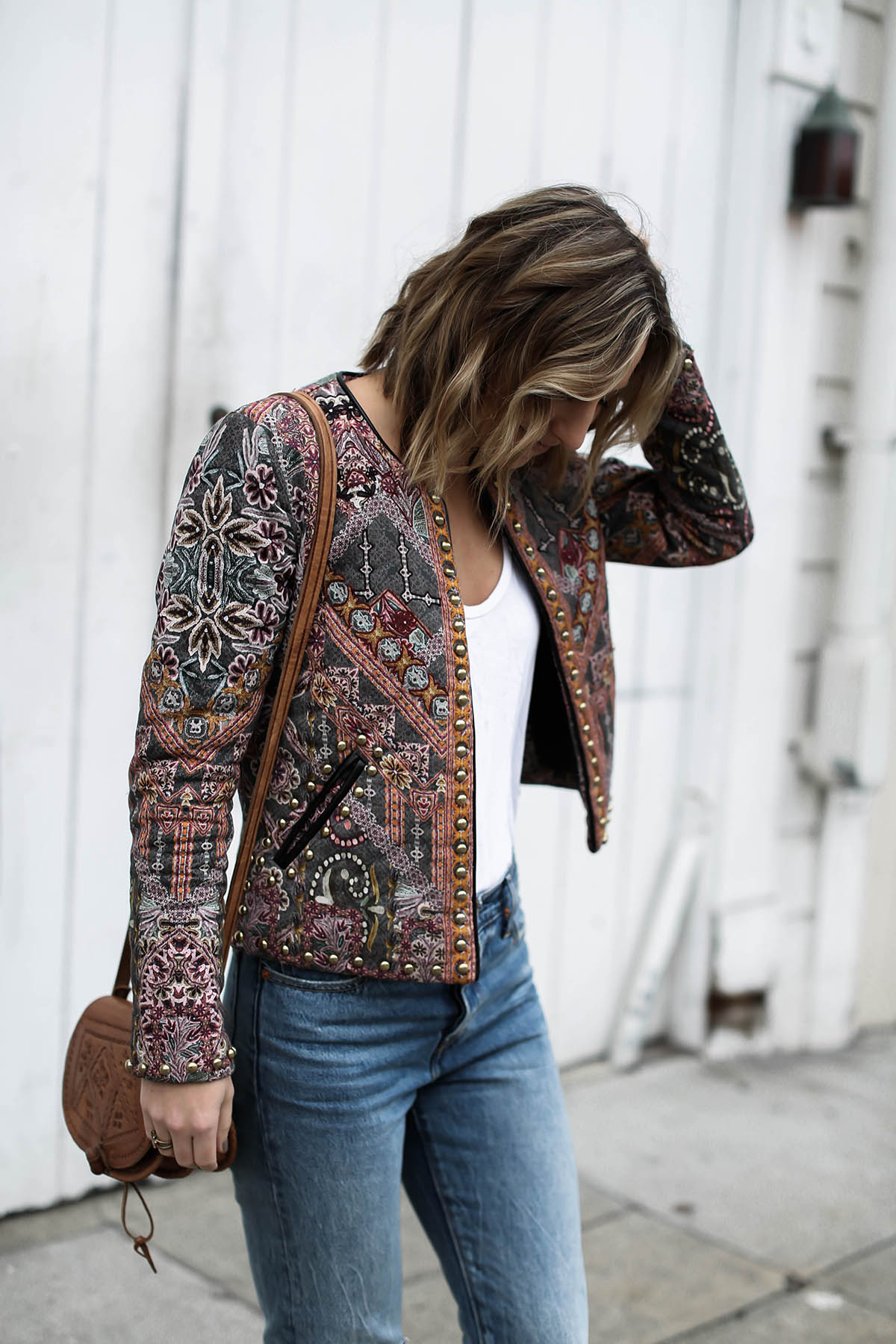 anthropologie statement jacket