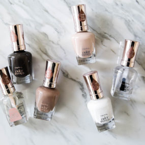 Favorite Nude Nail Colors for 2017