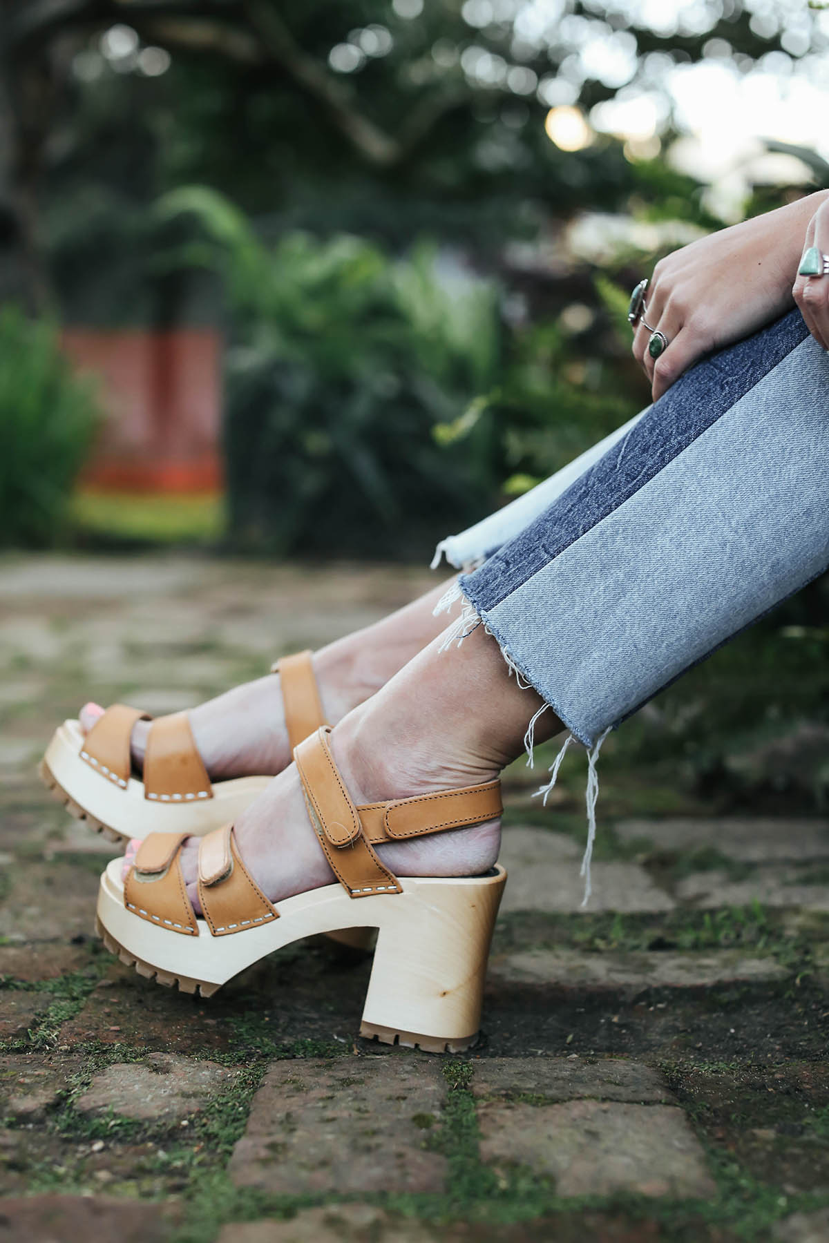 urban outfitters spring trends swedish clogs and patchwork denim