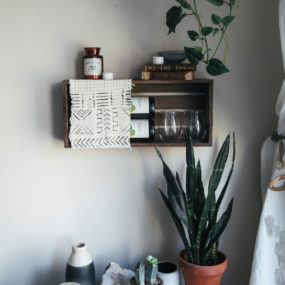 DIY Wine Rack for Small Spaces