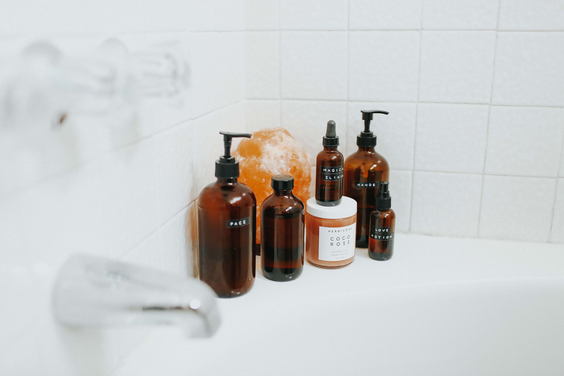 relaxing shower products